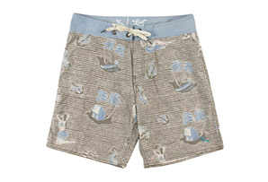 Lost At Sea Boardshort - Men's