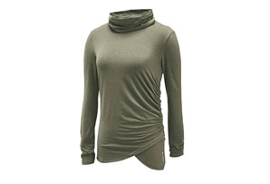 Merrell Evoke Jersey Rouched Top - Womens