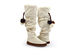 Muk Luks Winona Sequence Slipper Boot - Womens