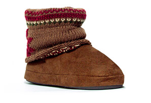 MUK LUKS Patti Cuff Slipper - Womens