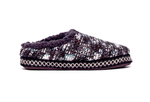 MUK LUKS Lucia Scuff Knit Slipper - Womens