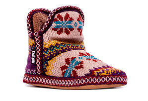 MUK LUKS Amira Snowflower Slipper - Womens