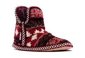 MUK LUKS Amira Chunky Knit Slipper- Womens