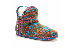 MUK LUKS Pattern Amira Slippers - Women's