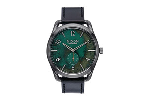 Nixon C45 Leather Watch