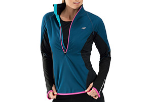 New Balance Windblocker 1/2 Zip - Womens