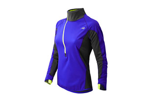 New Balance Windblocker Half Zip - Womens