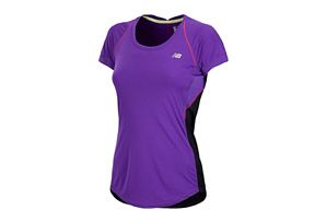 New Balance Impact Short Sleeve - Womens