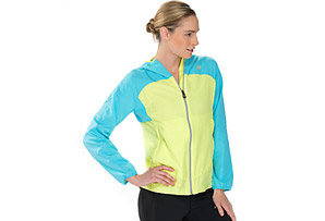 New Balance Sequence Hooded Jacket - Womens