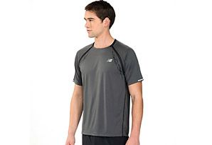New Balance Impact Short Sleeve - Mens