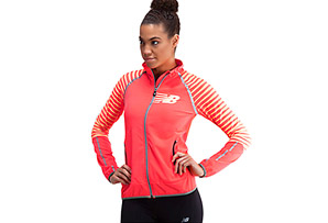 New Balance Hi-Viz Beacon Jacket - Womens