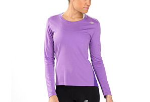 New Balance Go 2 Long Sleeve Shirt - Womens