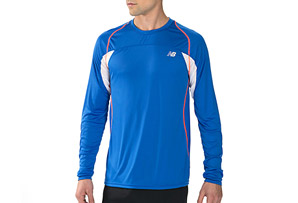 New Balance Momentum Long Sleeve Shirt - Mens