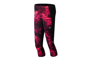 New Balance Accelerate Printed Capri - Womens