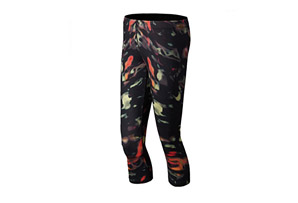 New Balance Printed Capri - Womens