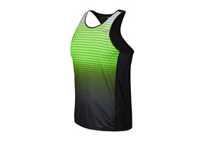 New Balance Accelerate Singlet Graphic - Mens