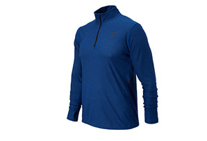 New Balance Shift Long Sleeve 1/4 Zip - Mens