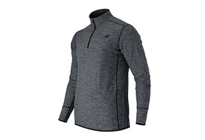 New Balance Space Dye Quarter Zip - Men's
