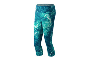 New Balance Premium Performance Capri Print - Women's