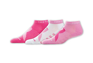 New Balance Komen Low Cut Socks - 3-Pack