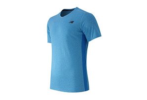 New Balance Striped Sonic Top - Men's
