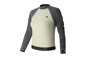 New Balance Sport Style Long Sleeve Cropped Top - Women's