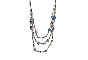 Ocean Exotics 'Blue Moon' Dangling Necklace