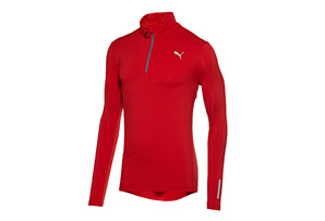Puma Pure Core 1/2 Long Sleeve Run Top - Mens