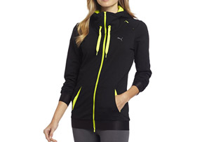 Puma Knit Zip Thru Jacket - Womens