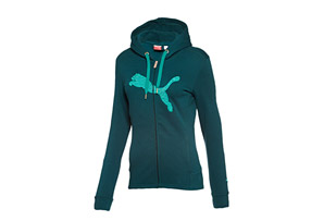 Puma Hooded Full Zip Track Jacket - Womens