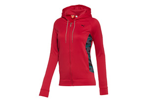 Puma Essential Gym Graphic Jacket - Womens