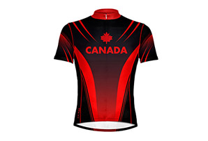 Primal Canada 2010 Cycle Jersey - Mens