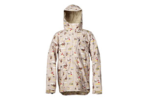Quiksilver Lone Pine 20K Insulated Jacket - Mens
