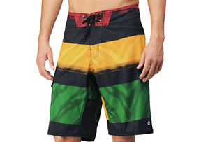 REEF Stripe Conflict Boardshorts - Mens