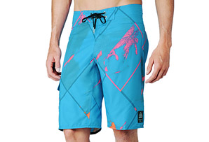 REEF Miss Reef Diamond Splatter Boardshorts - Mens