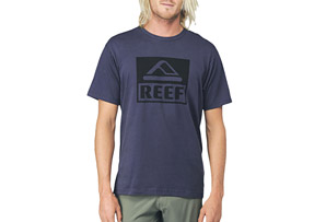REEF Square Block Tee - Mens