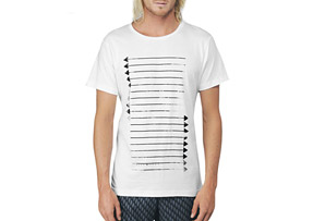 REEF Warrior Stripe Tee - Mens