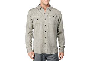 REEF Draftsmen L/S Shirt - Mens