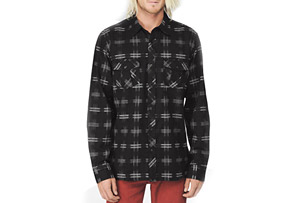 REEF Jalama L/S Flannel - Mens