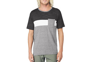 REEF Block Crew Tee - Mens
