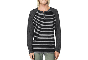 REEF Mister Stripe Tee - Mens