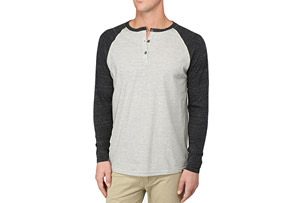 Reef La Jolla Cove Henley - Mens