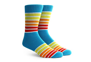 Richer Poorer Runner Athletic Socks