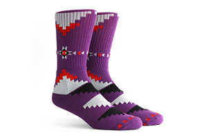 Richer Poorer Watcher Athletic Socks