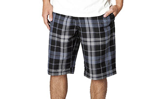 Rusty Agent Plaid Short