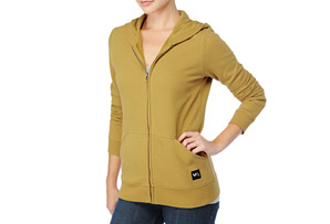 RVCA Fleece Colors Hoodie - Womens