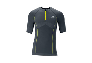 Salomon Exo Motion Zip Tee - Mens