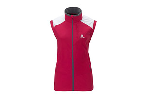 Salomon Momentum Softshell Vest - Womens