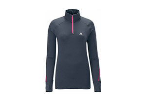 Salomon Trail Runner Warm LS Zip - Womens