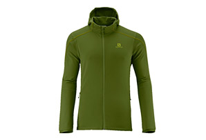 Salomon Discovery Hooded Midlayer - Mens
